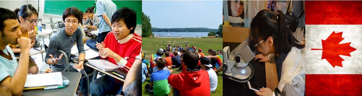 Banner Study Summer Camp Canada